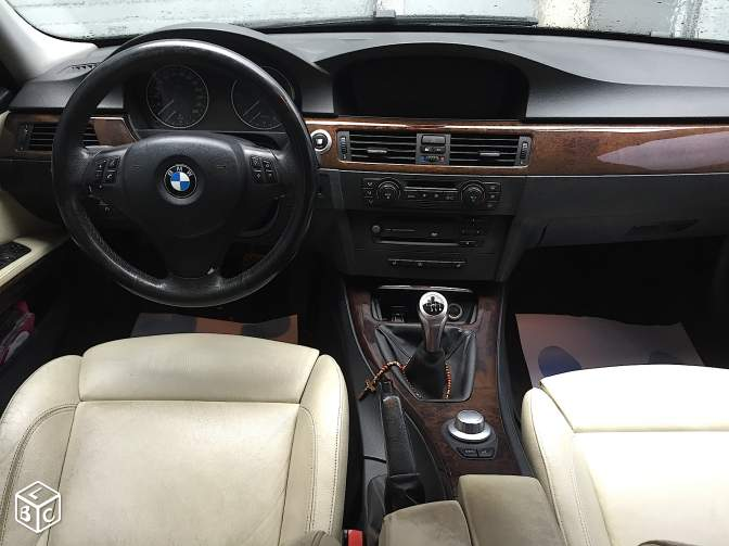Bmw 320 d luxe gps cuir