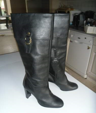 Bottes pointure 40 cuir
