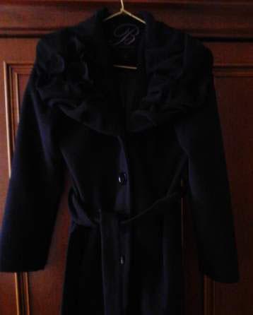 Manteau noire marque