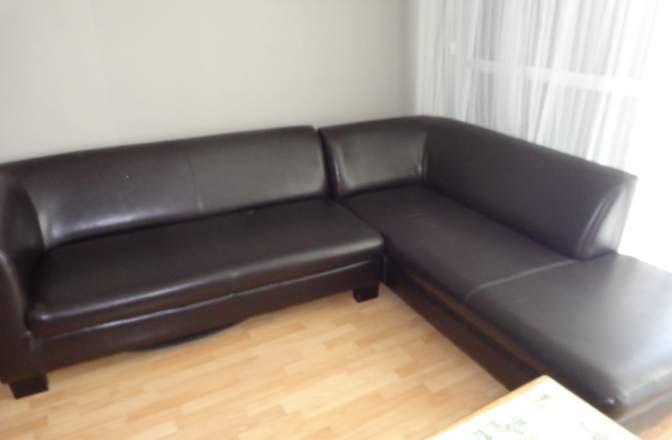 Canapé d'angle simili