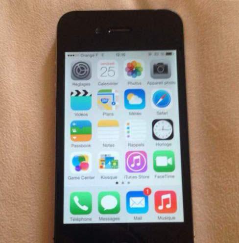 Iphone 4 noire