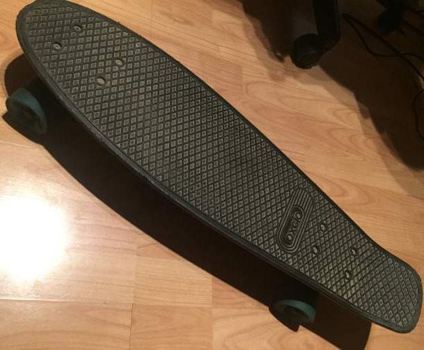 Skate Bord noire