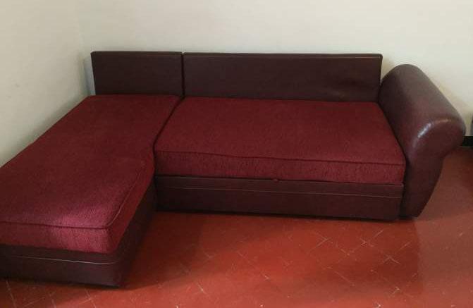 Canapé d'angle couleur