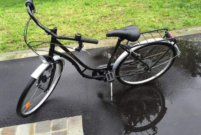 Vélo gitane noire