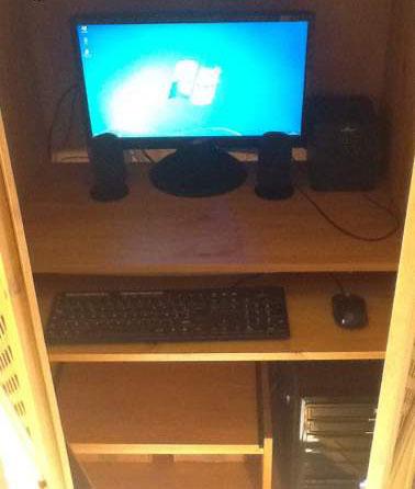 PC de bureau avec son