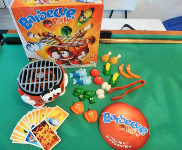 Jeu BARBECUE PARTY