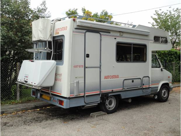Camping car peugeot j5 Turbo