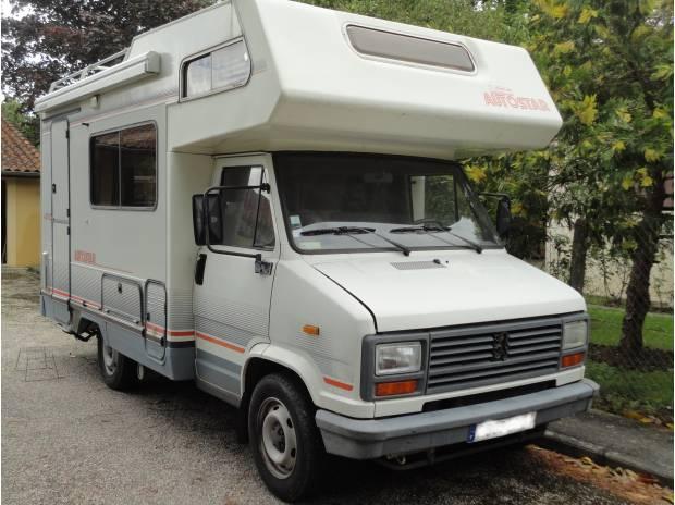Camping car peugeot j5