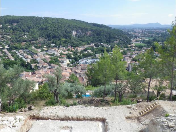 Un terrain de 519m2 situé entre Hyères - Toulon