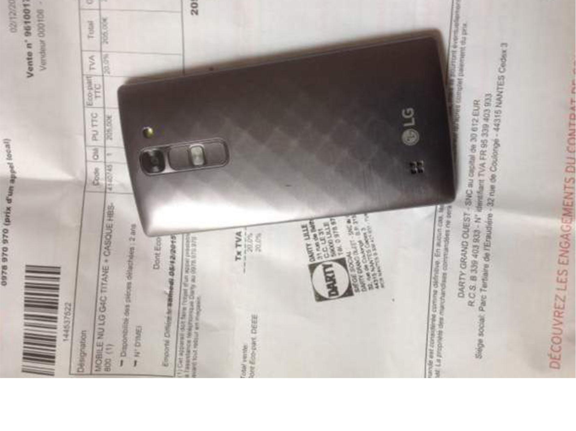 Le smartphone occasion LG