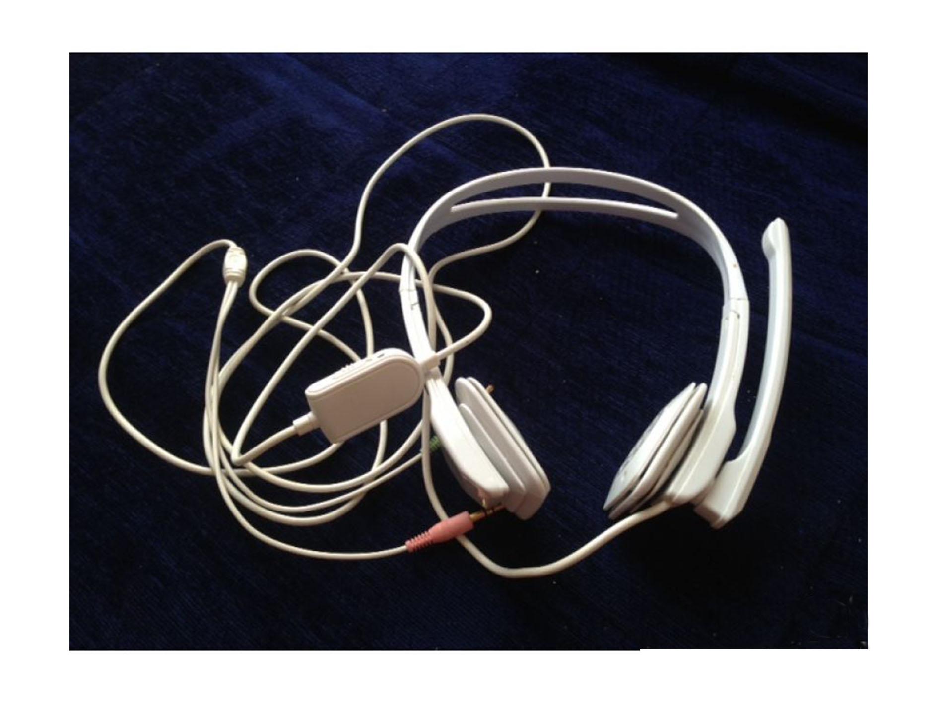 Une Casque écouteurs