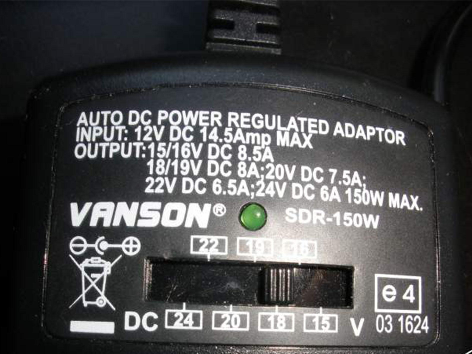 Chargeur universel voiture ordinateur portable