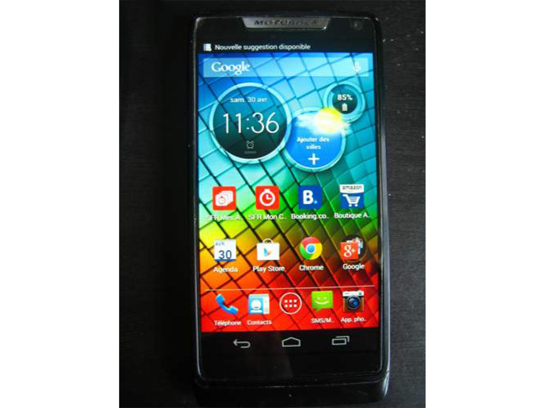 Le smartphone Motorola