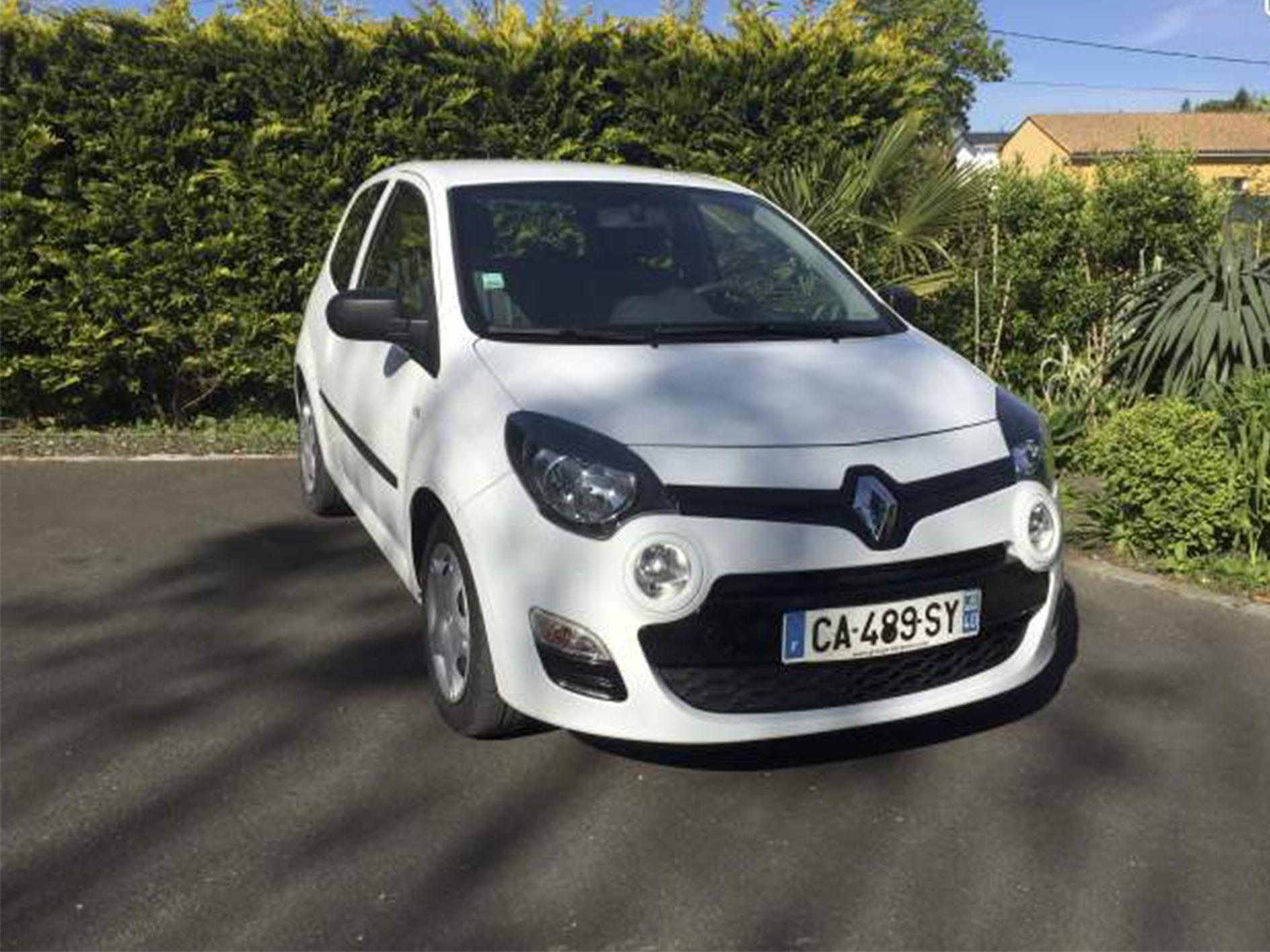 Vente de voiture occasion Renault twingo