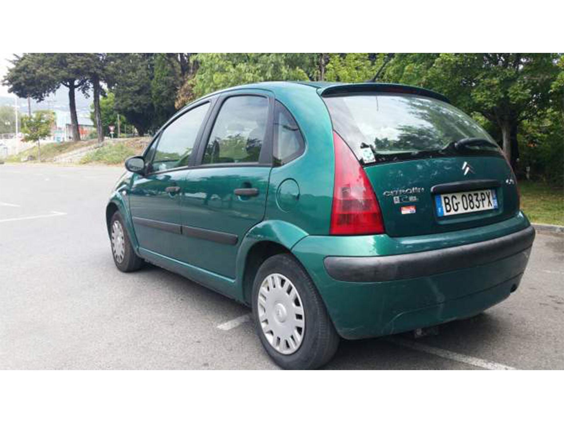 Vente voiture Citroën C3 hdi