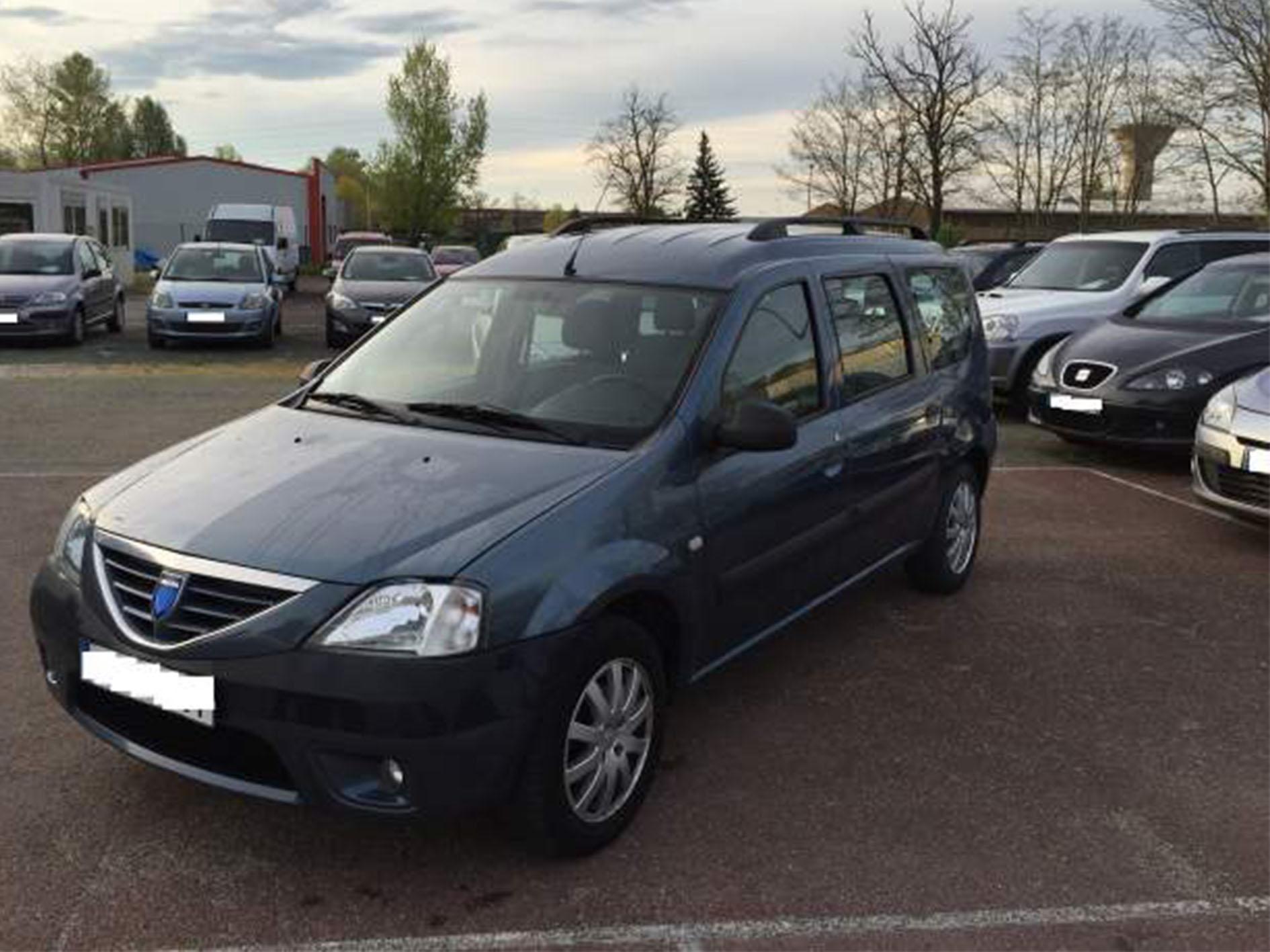 Mise en vente Dacia Logan