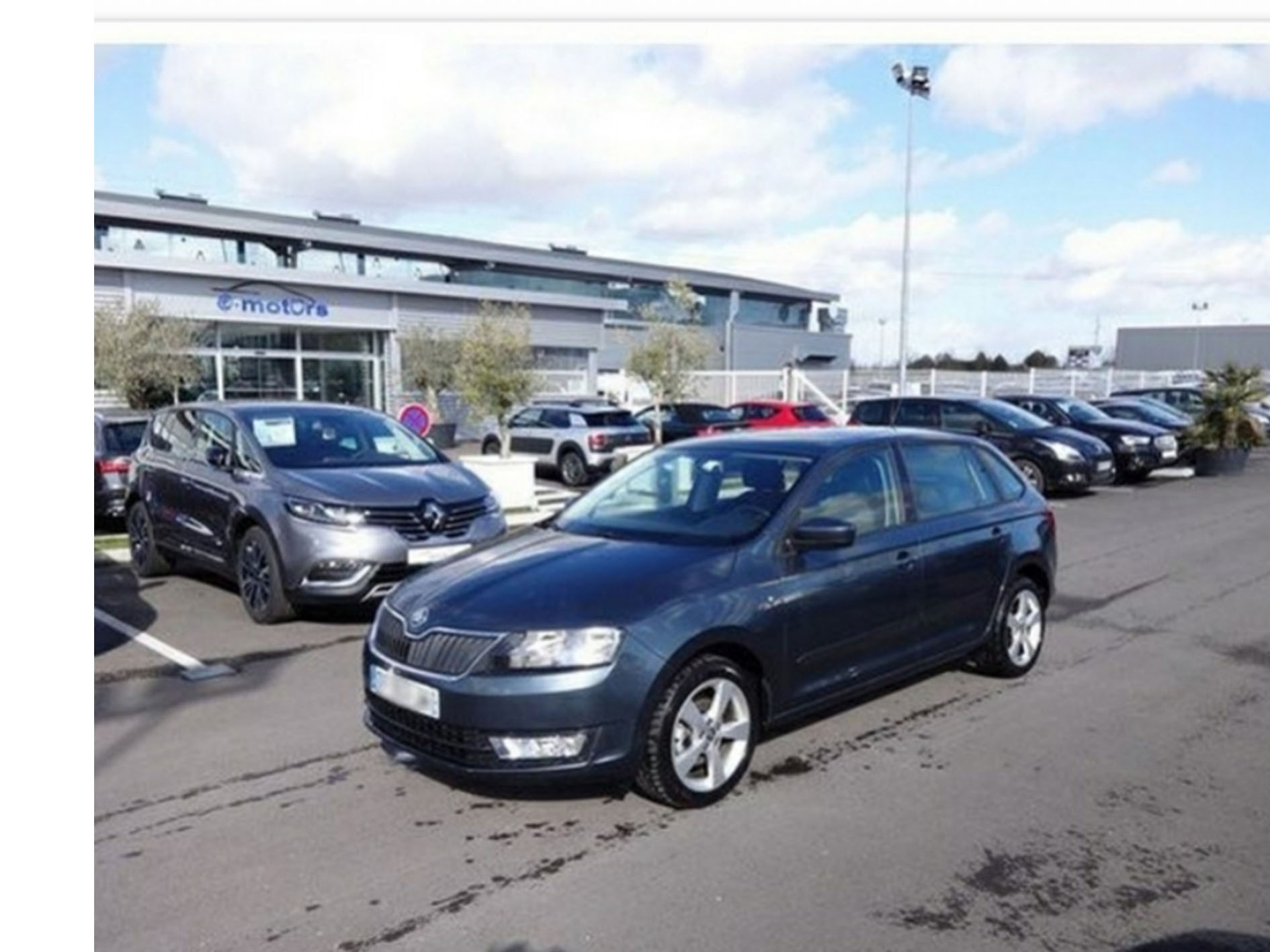 Skoda Rapid Spaceback en