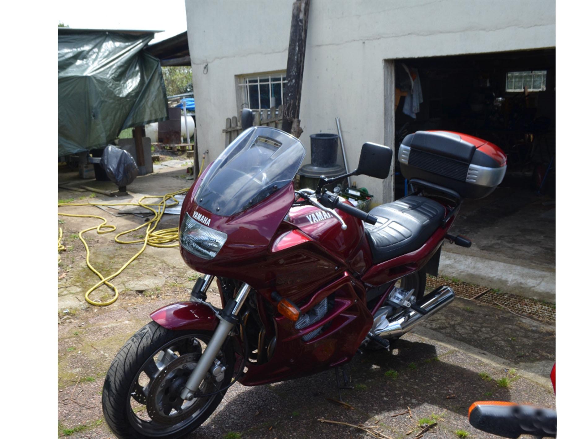 Moto Yamaha 900 diversion à vendre