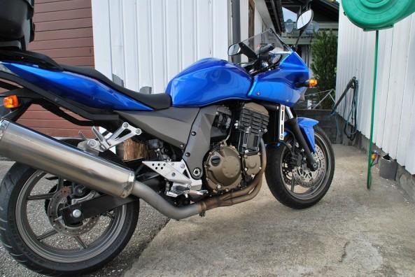 Moto Kawasaki Z750S 2005