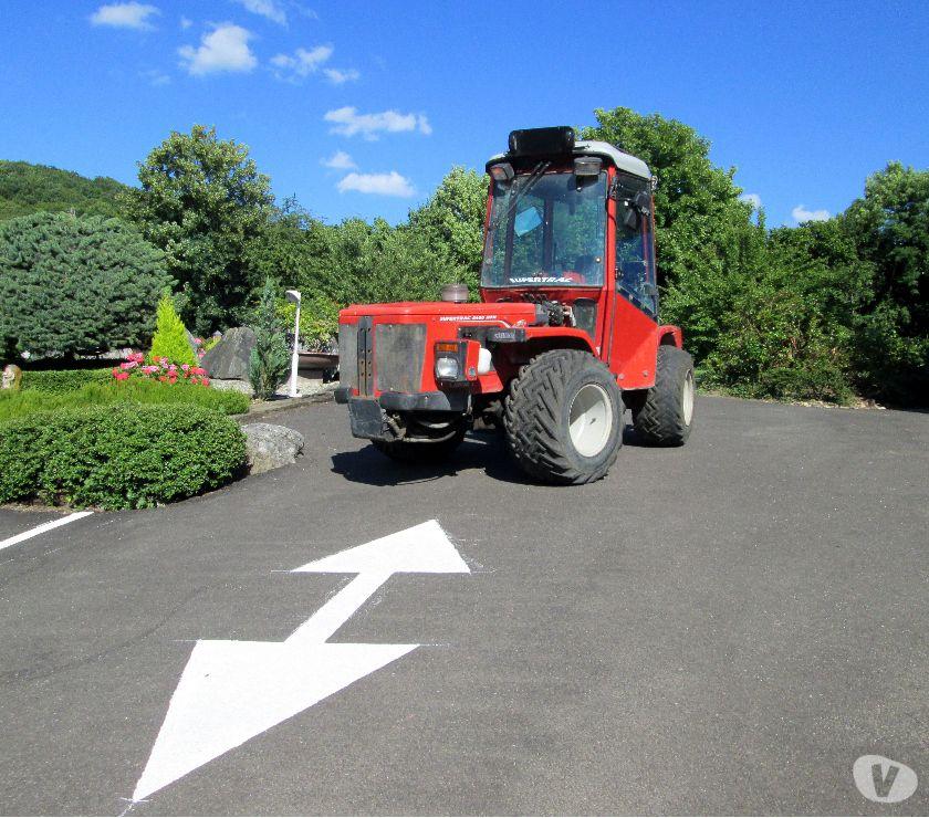 VENTE Tracteur articulé CARRARO 8400 75ch