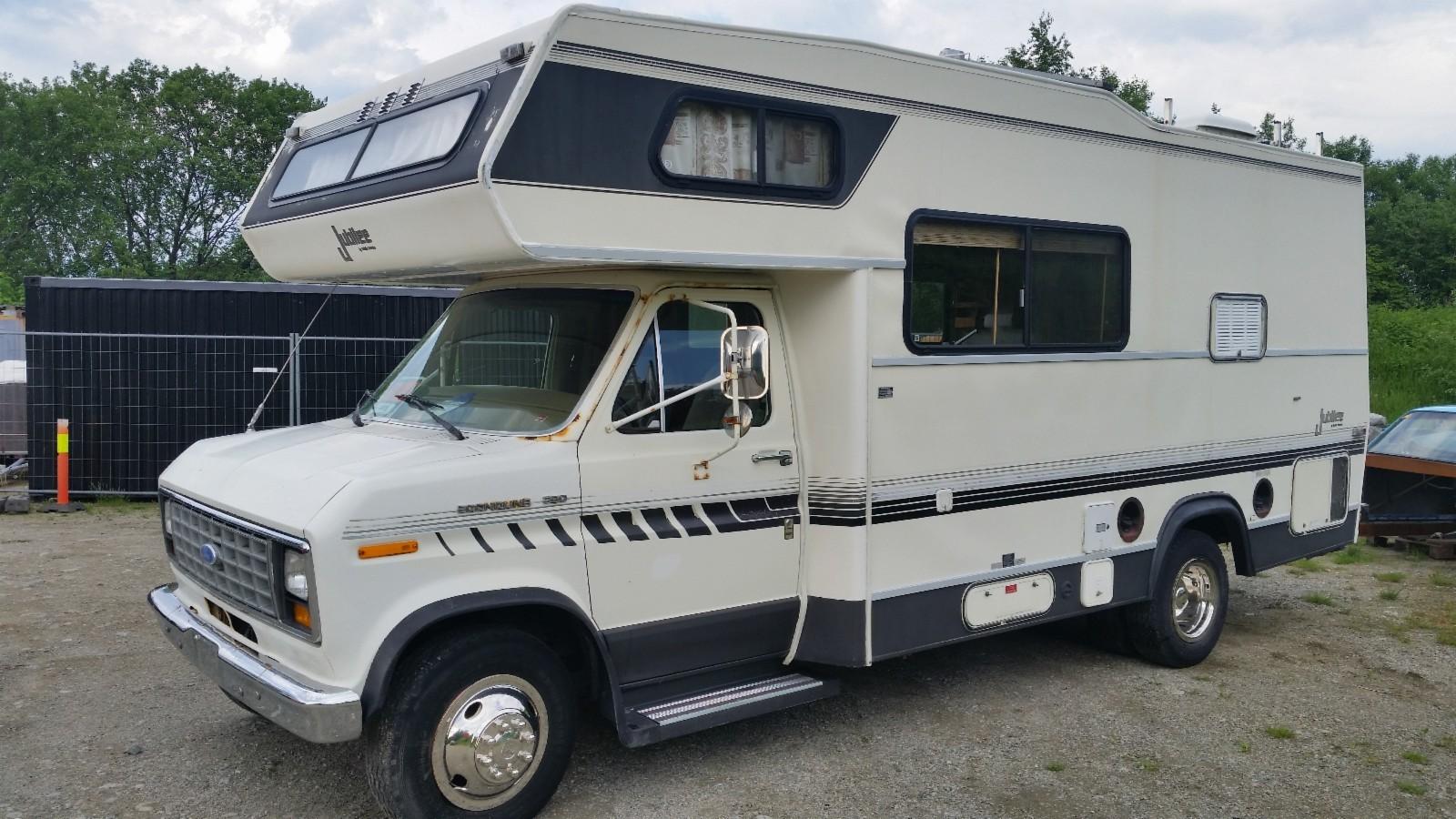 camping car ford diesel ct ok beg. Black Bedroom Furniture Sets. Home Design Ideas
