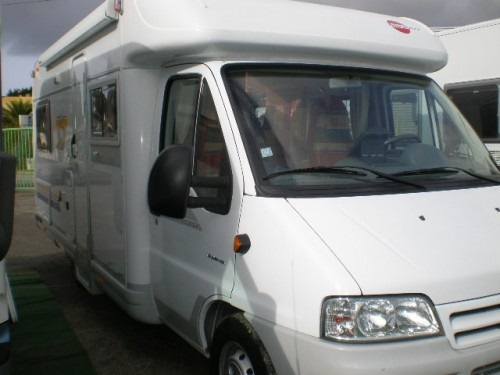 Camping car Burstner T645