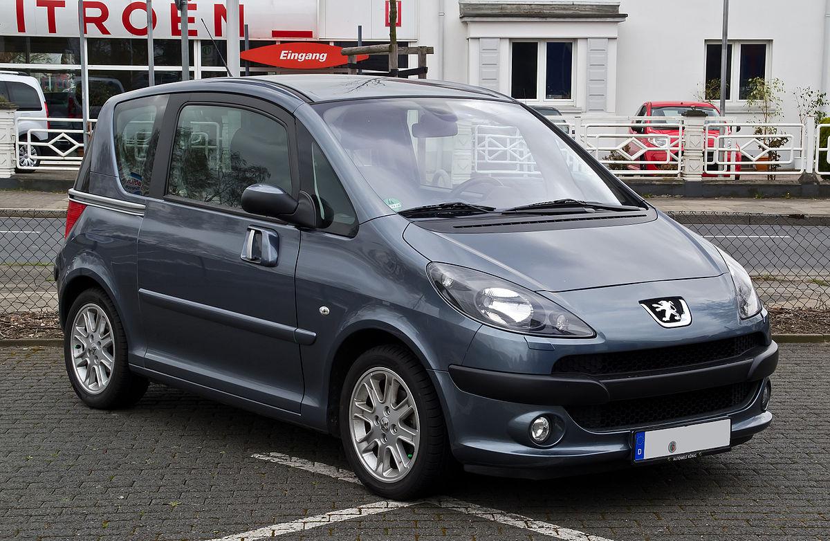 Peugeot 1007 1.4 i 75 BVM5 Sporty