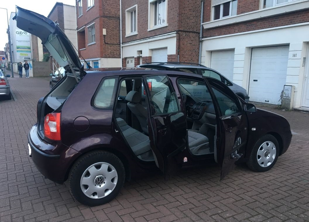 Volkswagen polo 1L4 TDI, 4cv, 5portes