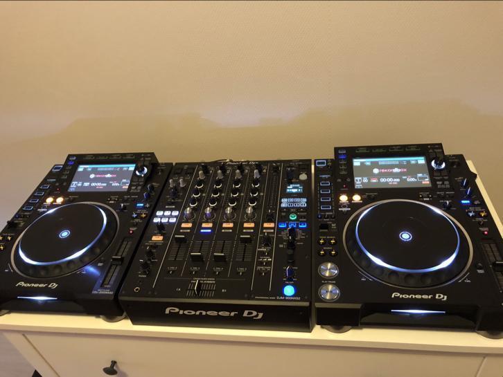 Régie DJ PRO PIONEER